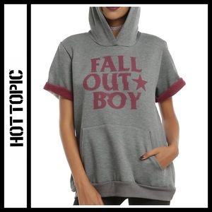Fall Out Boy Short Sleeve Hoodie from Hot Topic